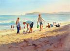 Summer Days on Inverloch Surf Beach
