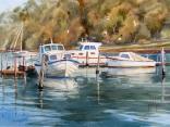 Boats at Chinamans Creek, Metung
