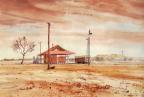 Railway Station, Yaraka, Central Queensland