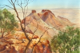 The Three Sisters, Carisbrooke, Near WInton, Queensland